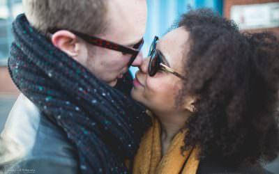 Alternative Engagement Photographs | Digbeth | Natalie & Josh