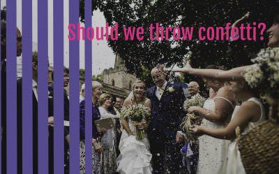 Should we throw confetti?