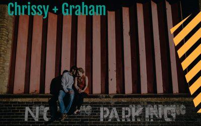 An urban prewedding shoot in Kettering